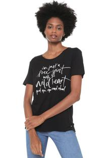 Camiseta Mob Free Spirit Preta - Kanui