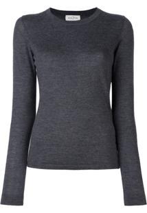 Le Kasha Suéter De Cashmere - Cinza