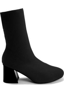 Bota Sock Boot Cano Curto Flare