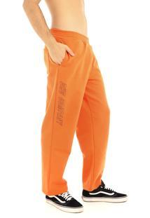 Calça Moletom Dhg Company All Orange