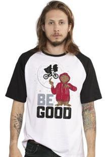 Camiseta Bandup! E.T. Be Good Raglan Oficial Masculina - Masculino