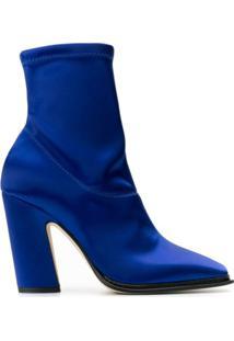 Jimmy Choo Bota Mica 100 - Azul