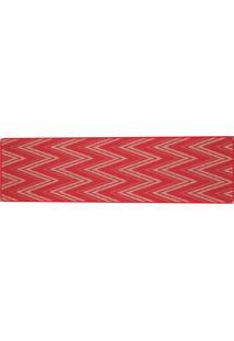 Tapete Sisllê Geométrico I Retangular Polipropileno (66X230) Vermelho