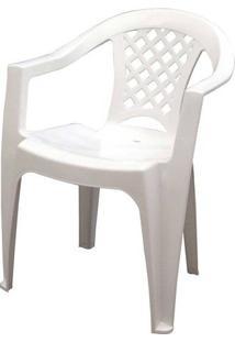 Poltrona Tramontina Iguape Branco