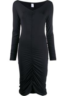 Fantabody Ruched Style Dress - Preto