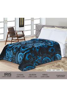 Cobertor King Nobre - Iris