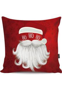 Capa De Almofada Papai Noel- Vermelha & Branca- 45X4Stm Home