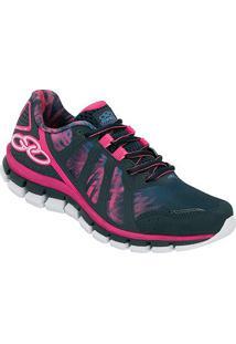 Tênis Olympikus Diffuse Colors Feminino - Feminino-Marinho+Pink