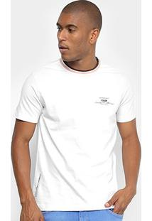 Camiseta Forum Create Something Masculina - Masculino-Branco