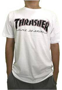 Camiseta Independent Collab Thrasher Time To Grind Masculina - Masculino