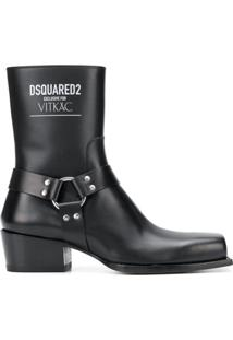 Dsquared2 Ankle Boot Exclusive For Vitkac - Preto