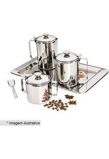 Jogo Para Chá & Café- Inox- 5Pçs- Euro Homewareeuro Homeware