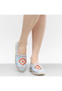 Sapatilha Shoestock Tribal Feminina - Feminino-Azul Claro