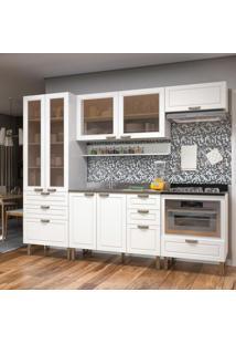 Cozinha Completa 7 Peças Americana Multimóveis 5675Mf Branco