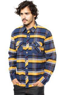 Camisa Volcom Dermot Xadrez