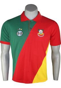 Camiseta Polo Masculina Dilva Oldoni Grêmio