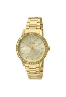 Relógio Analógico Condor Feminino - Co2035Kmn/4D Dourado