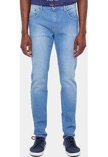 Calça Jeans Skinny Triton New Elastic Stone Masculina - Masculino