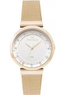 Relógio Feminino Technos 2035Mmx/4X 36Mm Aço - Feminino-Dourado
