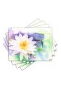 Jogo Americano - Flores Com 4 Peças - 867Jo