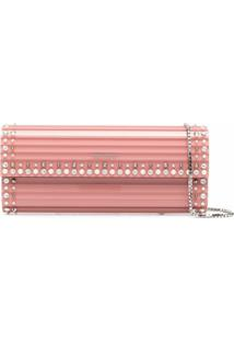Jimmy Choo Clutch Sweetie - Rosa