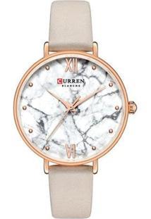 Relógio Curren Analógico C9045L Feminino - Feminino-Rose Gold