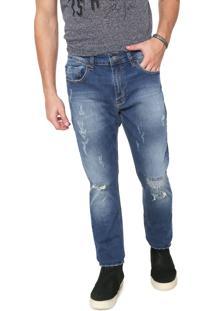Calça Jeans John John Slim Vermont Azul