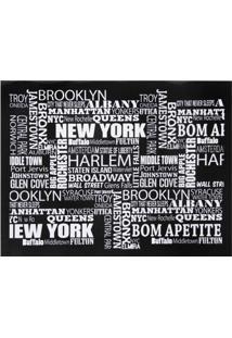 Jogo Americano Com 6 Unidades New York Decor E Casa
