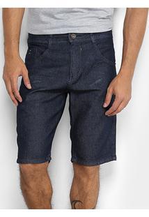 Bermuda Jeans Biotipo Elastano Masculina - Masculino