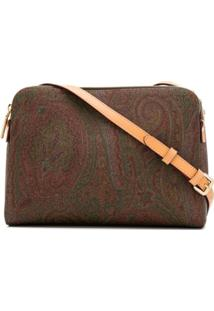 Etro Paisley Print Shoulder Bag - Marrom