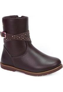 Ankle Boots Infantil Pampili Cafe