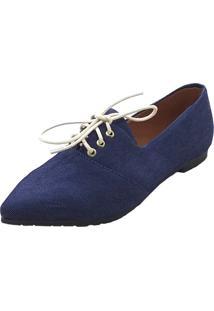Oxford Maisapato Tecido Jeans Azul