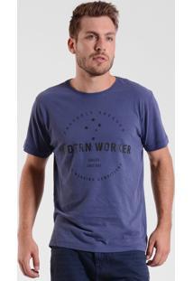 T-Shirt West Coast Modern Worker Stars Mirtilo
