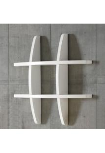 Prateleira Decorativa Pequena Taylor 600 Branco - Maxima