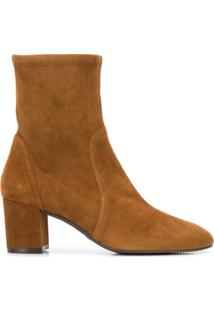 Stuart Weitzman Ankle Boot Yuliana 60 - Marrom