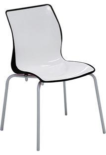 Cadeira Maja Preto/Branco Tramontina