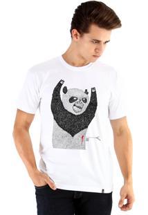 Camiseta Ouroboros Pandassauro Branco