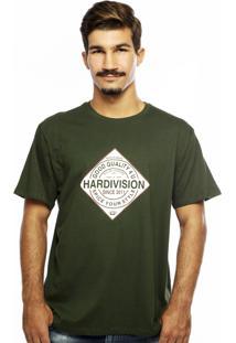 Camiseta Hardivision Spice Verde Militar