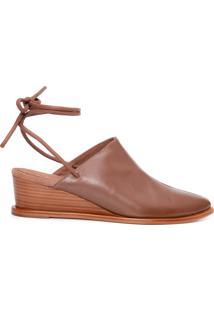 Sapato Feminino Mule Cura - Marrom