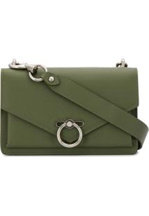 Rebecca Minkoff Leather Crossbody Bag - Verde