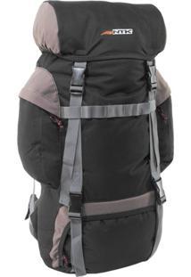 Mochila Cargueira Para Trekking Intruder 45 Litros Marrom E Preto - Nautika