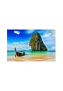 Painel Adesivo De Parede - Praia - 396Pn-G