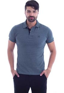 ... Camisa Polo Live Seven Verde Militar 697-09 - G3 315da91ed1470