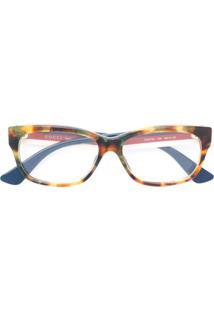 Gucci Eyewear Óculos De Sol Tartaruga - Marrom