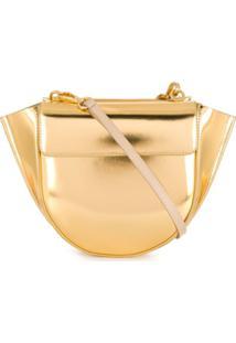 Wandler Bolsa Hortensia Mini - Dourado