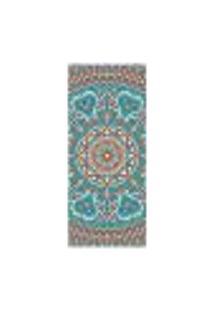 Adesivo Decorativo De Porta - Mandala - 2418Cnpt