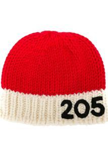 Calvin Klein 205W39Nyc Gorro Com Logo - Vermelho