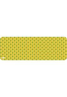Tapete De Cozinha Mdecore Legume Amarelo 40X120Cm