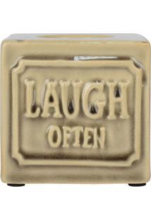 Porta Velas Laugh Often Kasa Ideia - Tricae