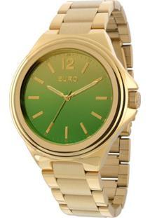 Relógio Feminino Euro Analogico Eu2035Yaa/4C - Unissex-Dourado
